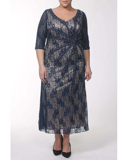 Lia Mara | Женское Синее Платье