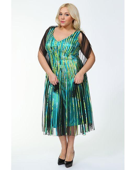 Lia Mara   Женское Зелёное Платье