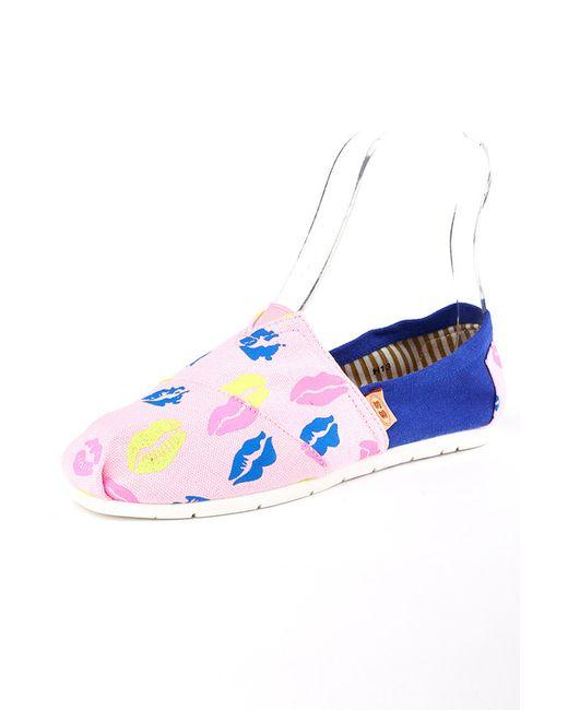 Es Shoes | Женские Розовые Мокасины