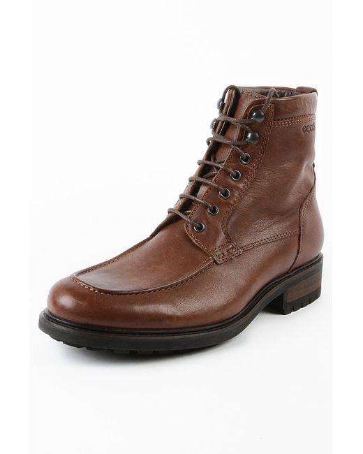 Ecco | Мужские Коричневые Ботинки