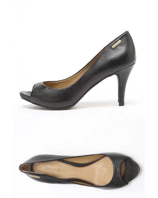 Dumond | Женские Чёрные Туфли
