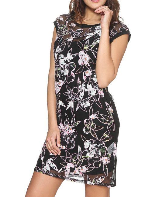 Vdp Via Delle Perle | Женское Чёрное Платье