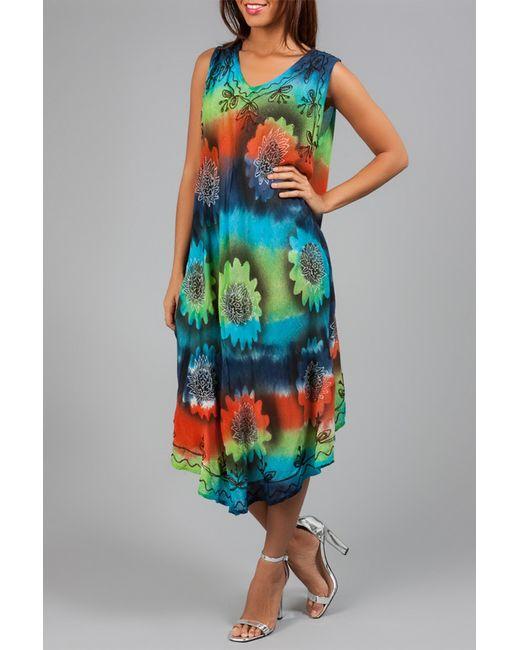 Anabelle | Женское Многоцветное Платье