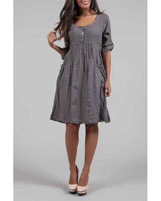 Des Si Belles   Женское Коричневое Платье