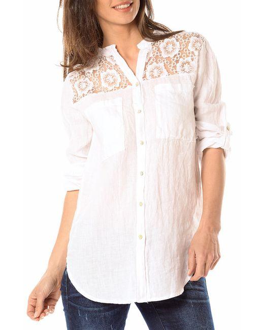 La Belle Parisienne | Женская Белая Рубашка