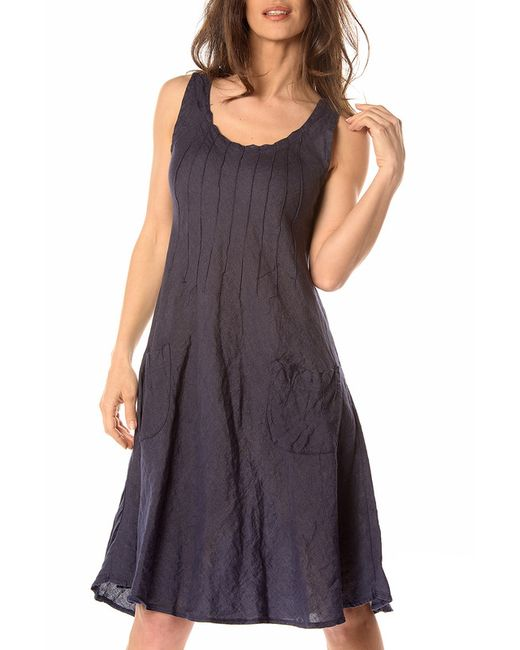 La Belle Parisienne | Женское Синее Платье