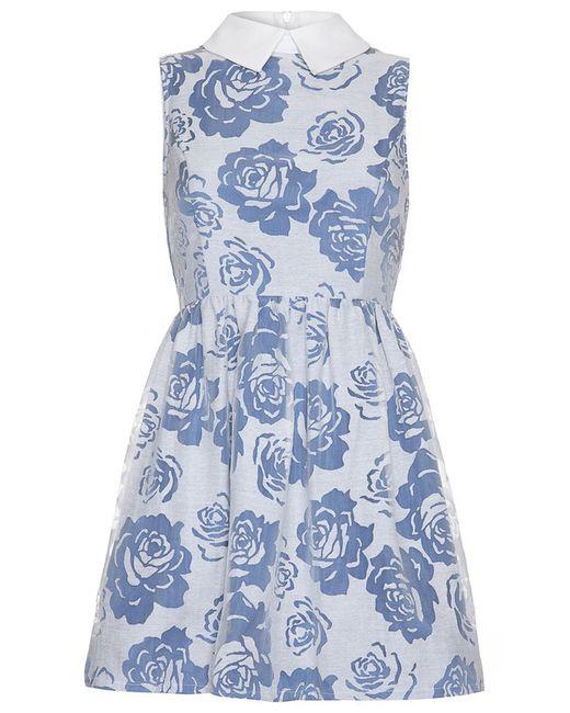 Iska | Женское Белое Платье