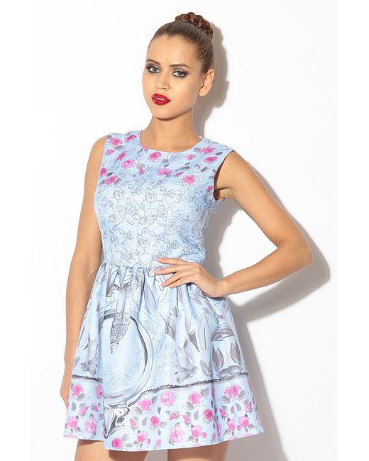 Tutto Bene | Женское Голубое Платье