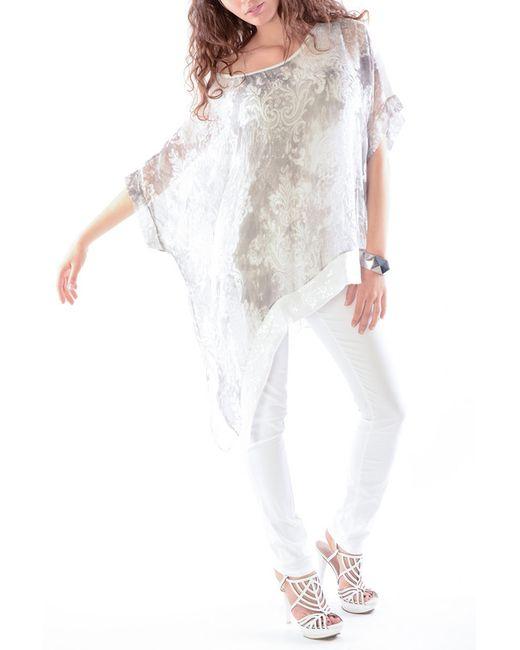 Silvana Cirri | Женская Белая Туника