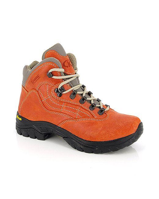 Kimberfeel | Женские Оранжевые Ботинки