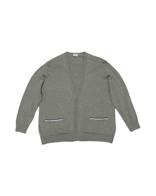 Lacoste | Мужской Серый Пуловер