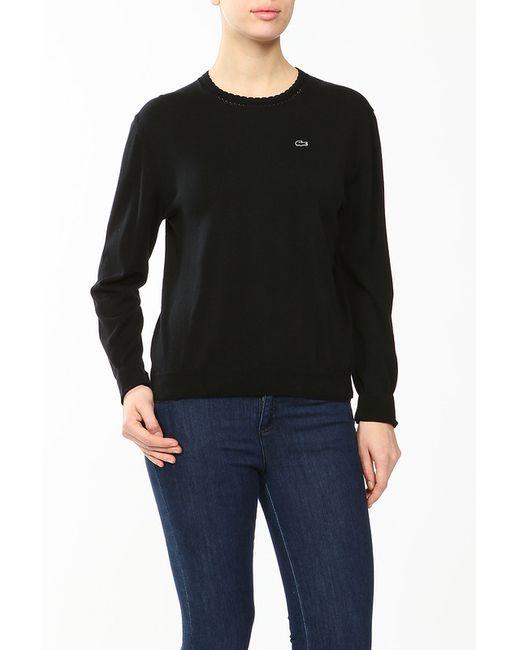 Lacoste | Женский Чёрный Пуловер