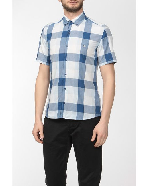 Lacoste | Мужская Бежевая Рубашка