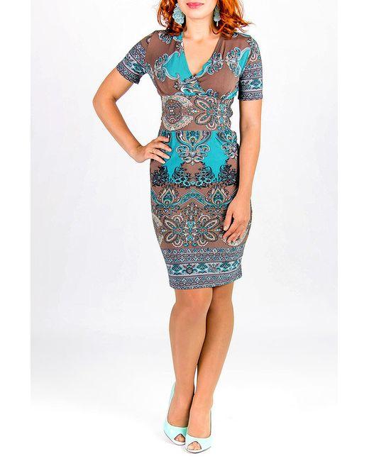 Lautus | Женское Многоцветное Платье