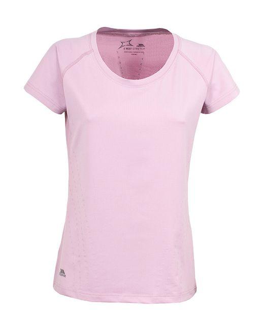 Trespass   Женская Розовая Футболка