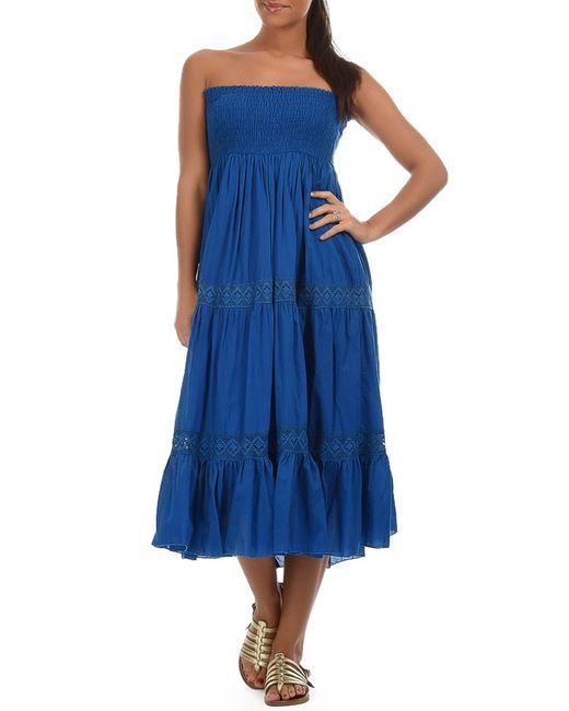 Goa   Женское Синее Платье