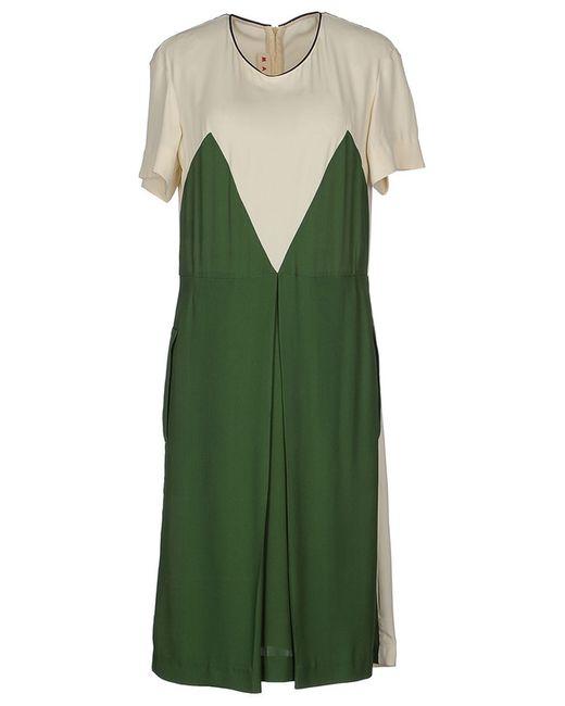 Marni   Женское Зелёное Платье