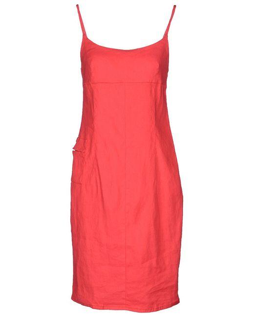 ARMANI JEANS | Женское Красное Платье