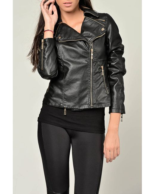 Joins | Женская Чёрная Куртка