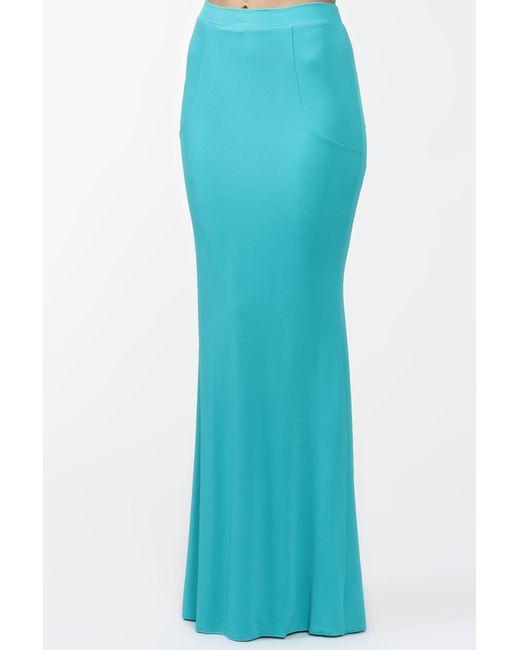 Blumarine | Женская Голуба Юбка