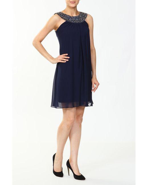Groupe Js   Женское Синее Платье