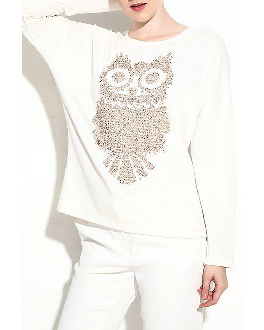 Milanesse   Женская Белая Блуза