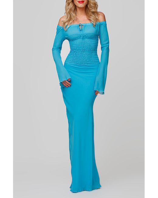 FIFI LAKRES | Женское Синее Платье