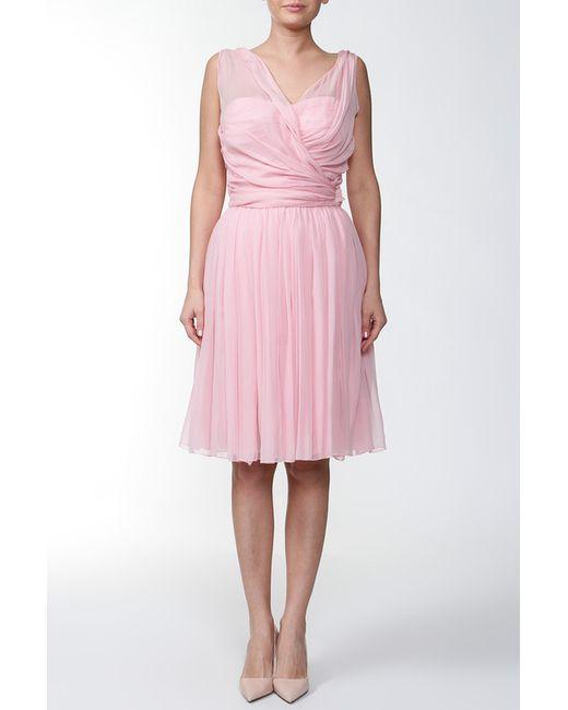 Dolce & Gabbana   Женское Розовое Платье