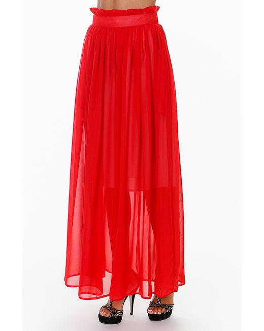 Delazarro | Женская Красная Юбка