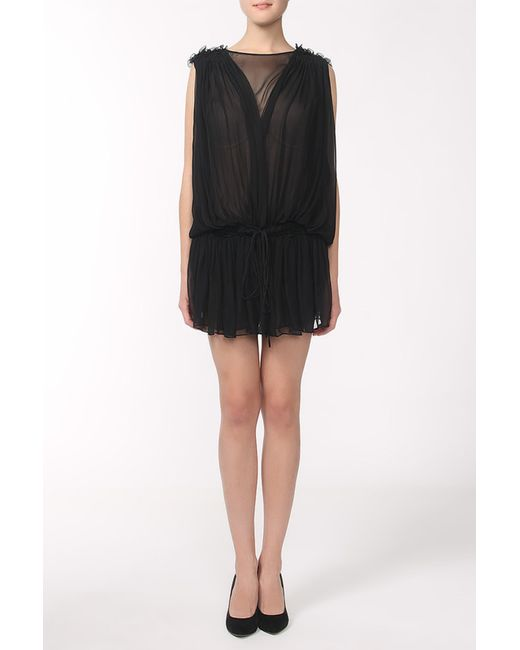 Givenchy | Женское Чёрное Платье