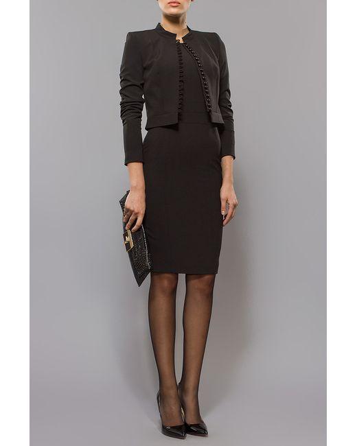 BGL | Женский Чёрный Комплект Жакет И Платье
