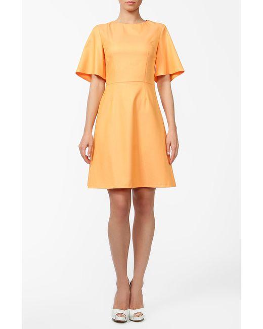 VLАDI Collection | Женское Оранжевое Платье
