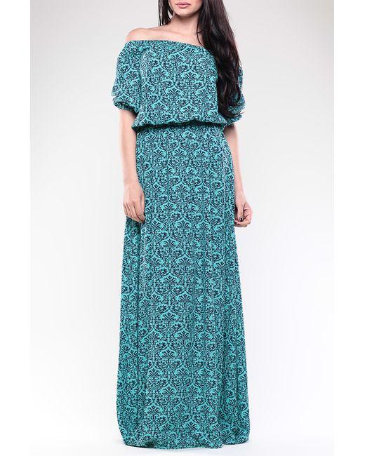 Dioni | Женское Синее Платье