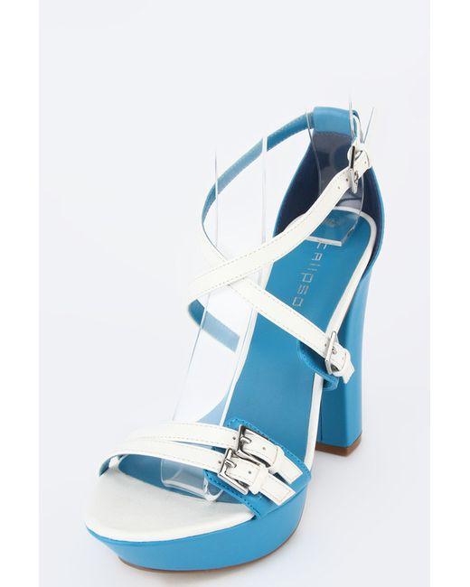 Calipso   Женские Синие Босоножки