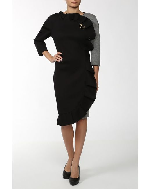 Class Roberto Cavalli | Женское Серое Платье