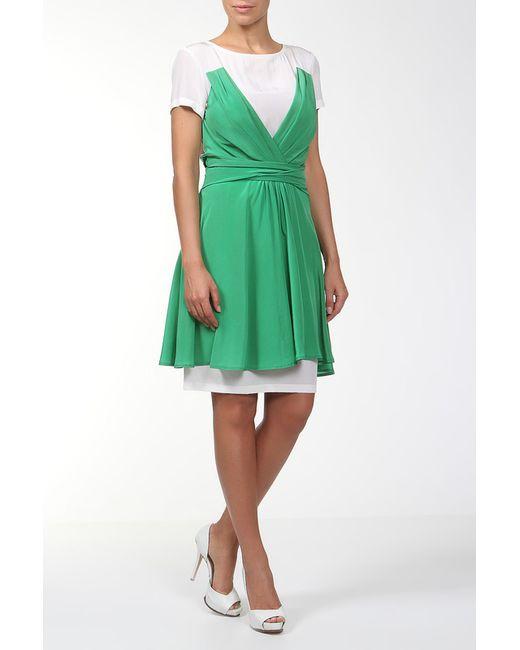 Poustovit | Женское Зелёное Платье