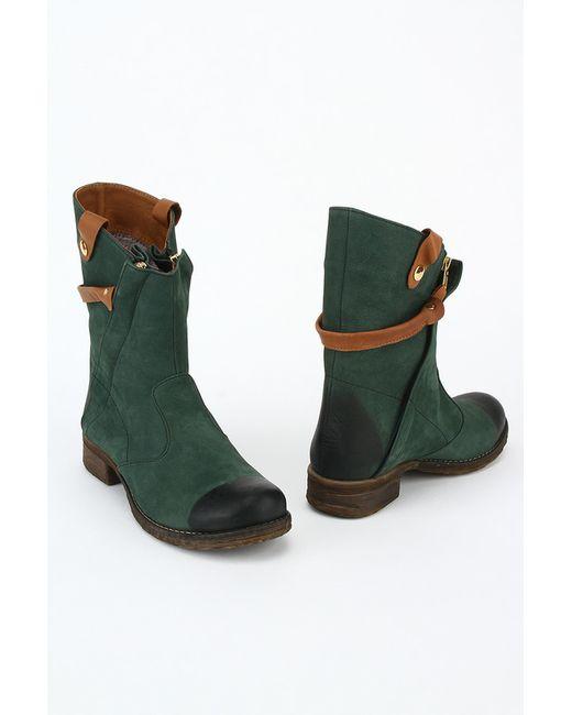 Benta | Женские Зелёные Ботинки