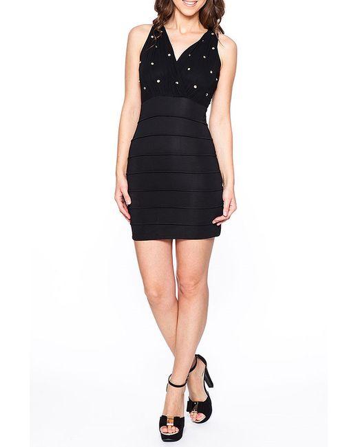 Rare London   Женское Чёрное Платье
