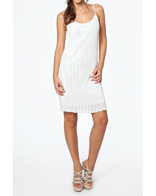Rare London   Женское Белое Платье