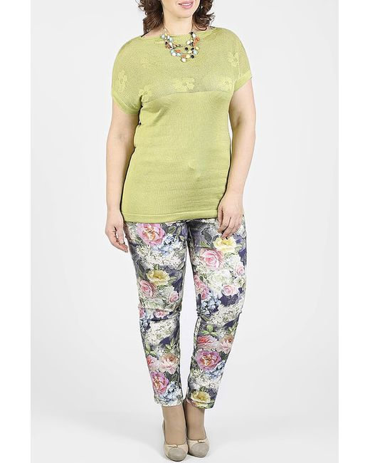 Milana Style | Женский Зелёный Джемпер