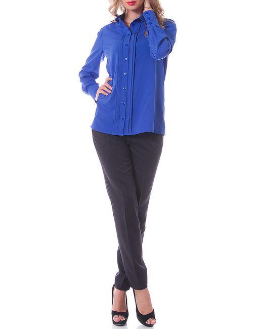 OKS   Женская Синяя Блузка