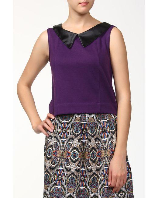 BERTEN   Женская Фиолетовая Блуза