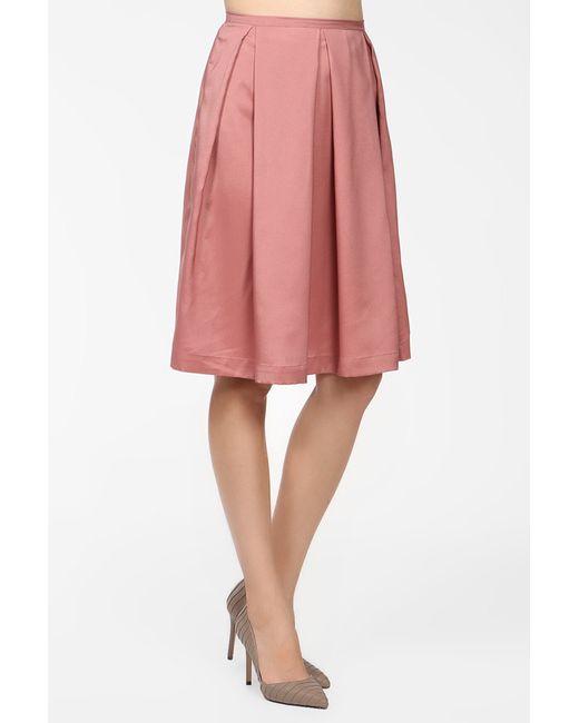 BERTEN | Женская Розовая Юбка