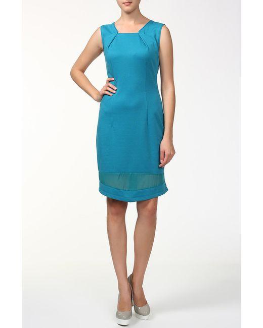 BERTEN | Женское Голубое Платье