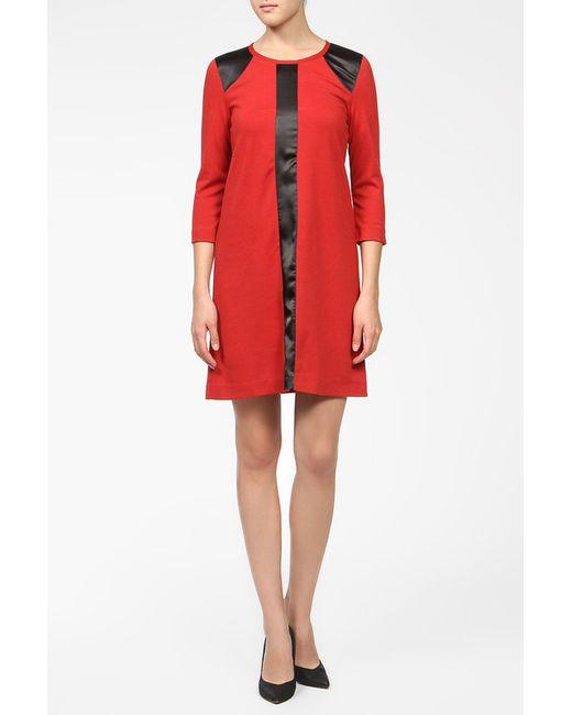 BERTEN | Женское Красное Платье