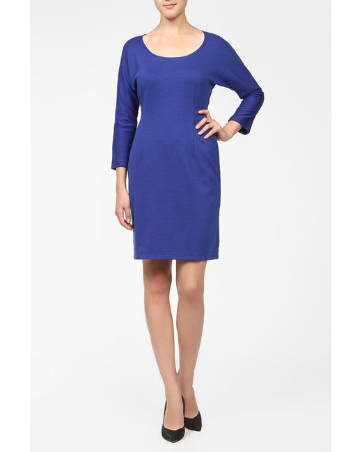 BERTEN   Женское Синее Платье