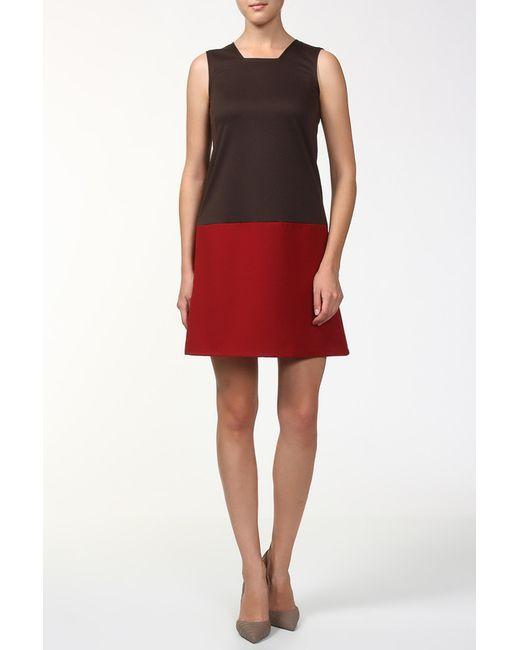 BERTEN | Женское Коричневое Платье