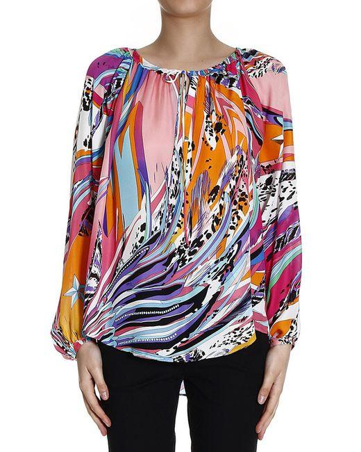 Emilio Pucci | Женская Многоцветная Блуза