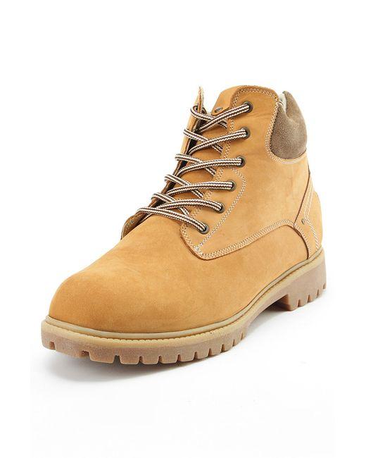 Milana   Мужские Жёлтые Ботинки