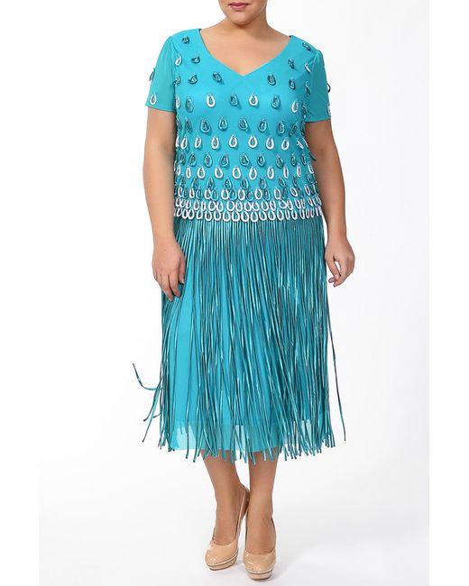 Lia Mara   Женское Голубое Платье
